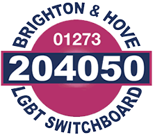 Brighton And Hove Lgbt Switchboard Logo